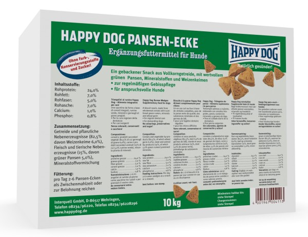 "Happy Dog ""Pansen-Ecken"""