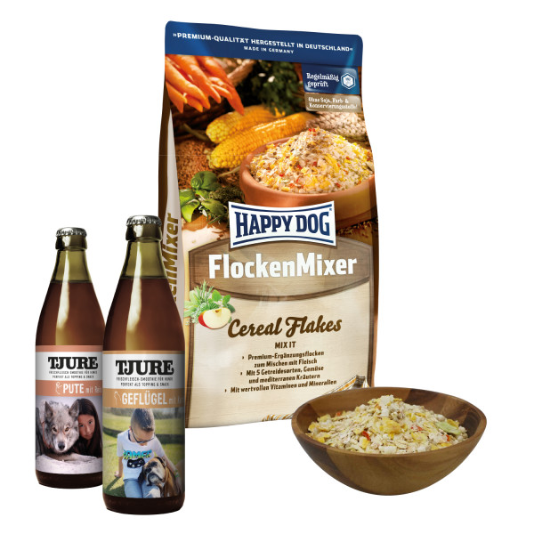 Geflügel & Pute + Flocken-Mixer