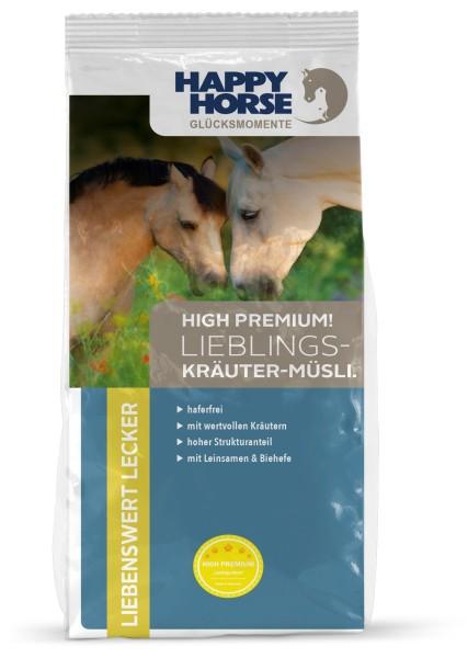 Kräuter Müsli für Pferde