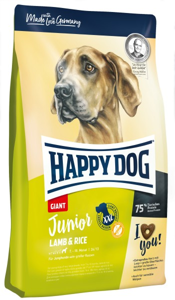 Happy Dog Junior Giant Lamb & Rice