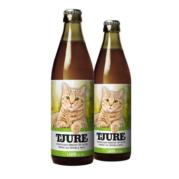 """TJURE Katze """"Lamm"""" Doppelpack 2 x 220 ml"""