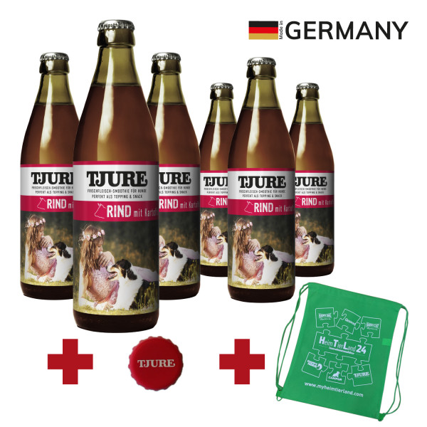 "TJURE Hund ""Rind"" Six Pack 6 x 320 ml"