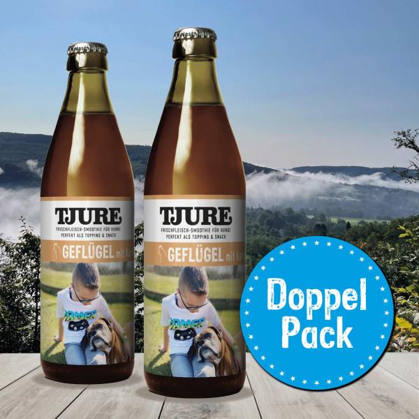 Hund - GEFLÜGEL & KARTOFFEL - Doppelpack 2 x 320 ml