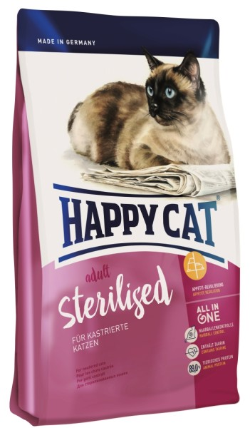 """Happy Cat """"Adult Sterilised"""""""