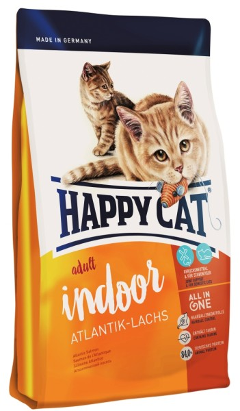 "Happy Cat ""Indoor Atlantik-Lachs"""