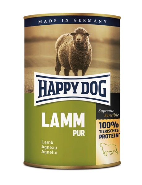 "Happy Dog ""Lamm Pur"""