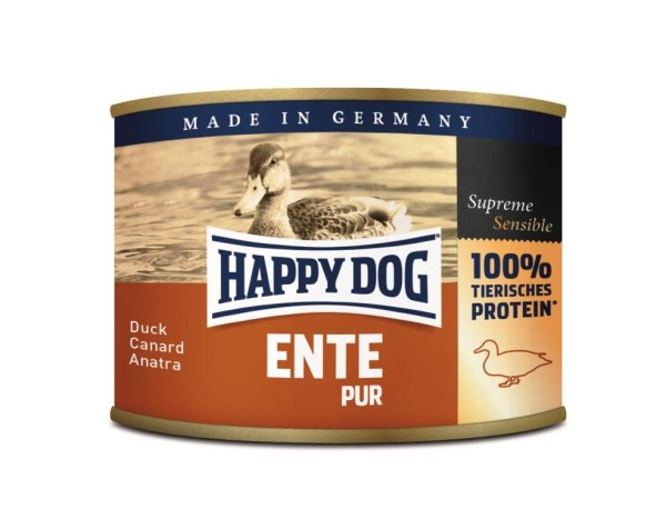 "Happy Dog ""Ente Pur"""