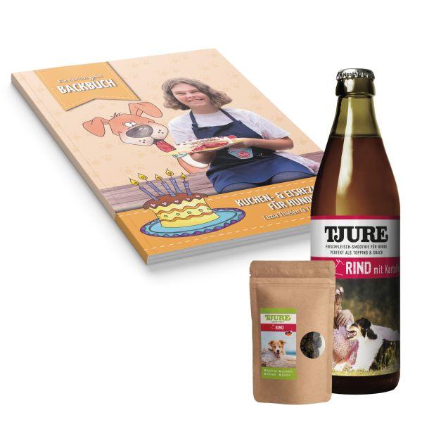 Luzia´s BACKBUCH mit TJURE Rind & Snack