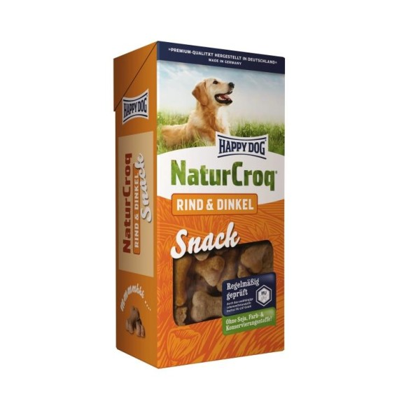 "Happy Dog Natur Snack ""Rind & Dinkel"""