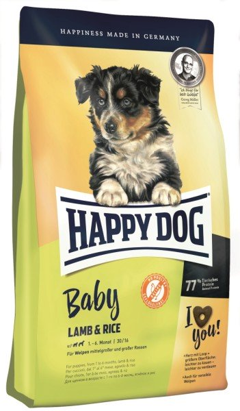 Happy Dog Supreme Young Baby Lamb & Rice
