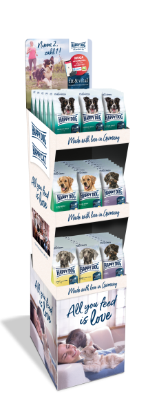 Happy Dog fit & vital Display 54 x 300 g