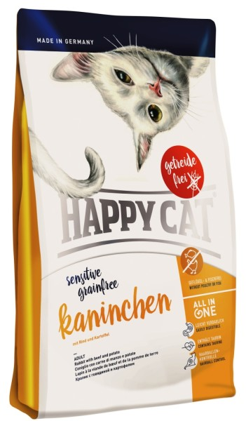 "Happy Cat ""Sensitive Grainfree Kaninchen"""