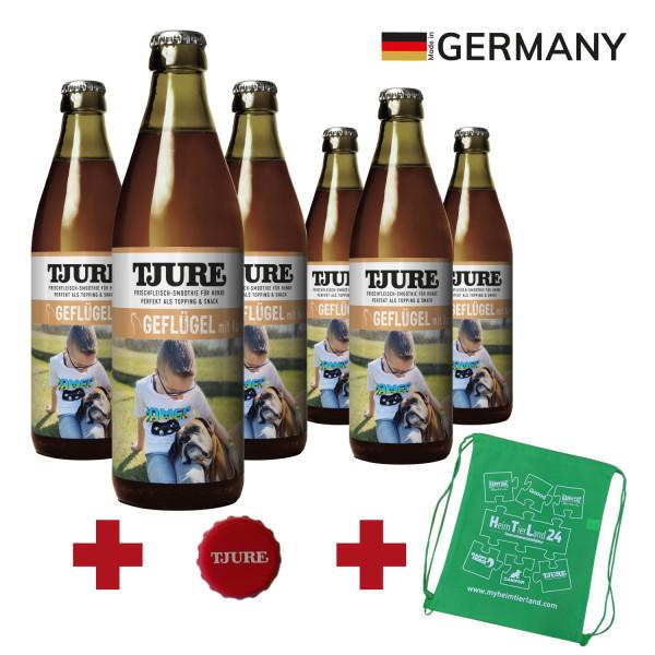 "TJURE Hund ""Geflügel"" Six Pack 6 x 320 ml"