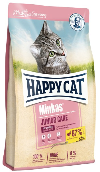 "Happy Cat ""Minkas Junior Care Geflügel"""