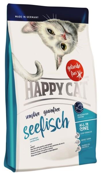 """Happy Cat """"Sensitive Grainfree Seefisch"""""""