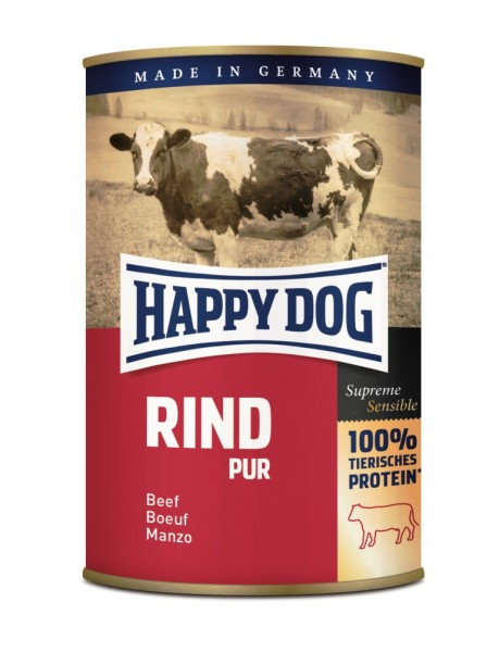 "Happy Dog ""Rind Pur"""
