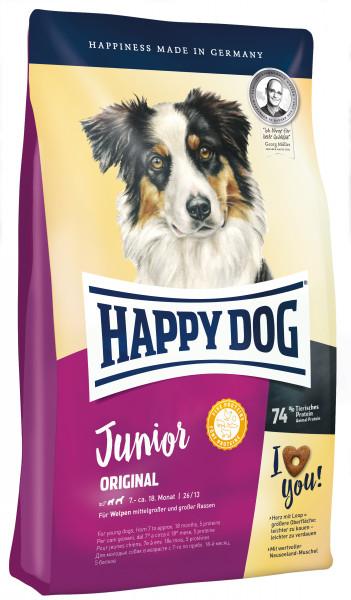 Happy Dog Supreme Young Junior Original glutenfrei Neuseeland-Muschel