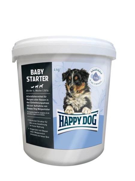 Happy Dog Baby Starter Lamm & Reis 4 kg