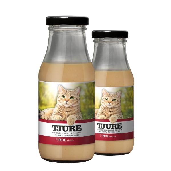 Katze - Pute & Reis - Doppelpack 2 x 220 ml