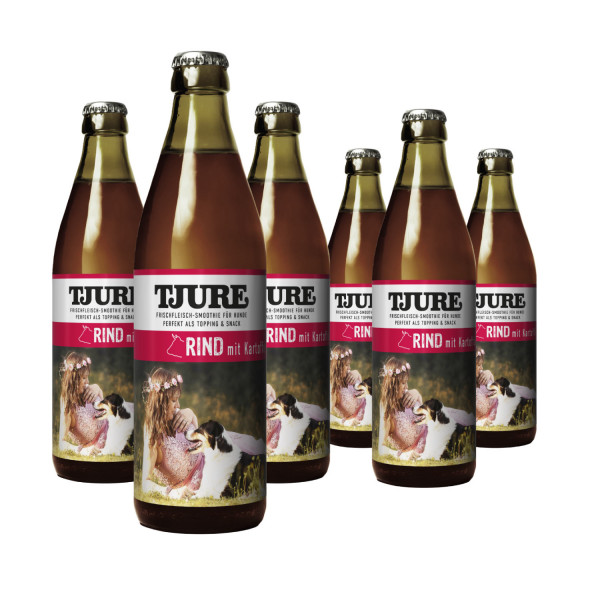 Hund - Rind & Kartoffel - Six Pack 6 x 320 ml