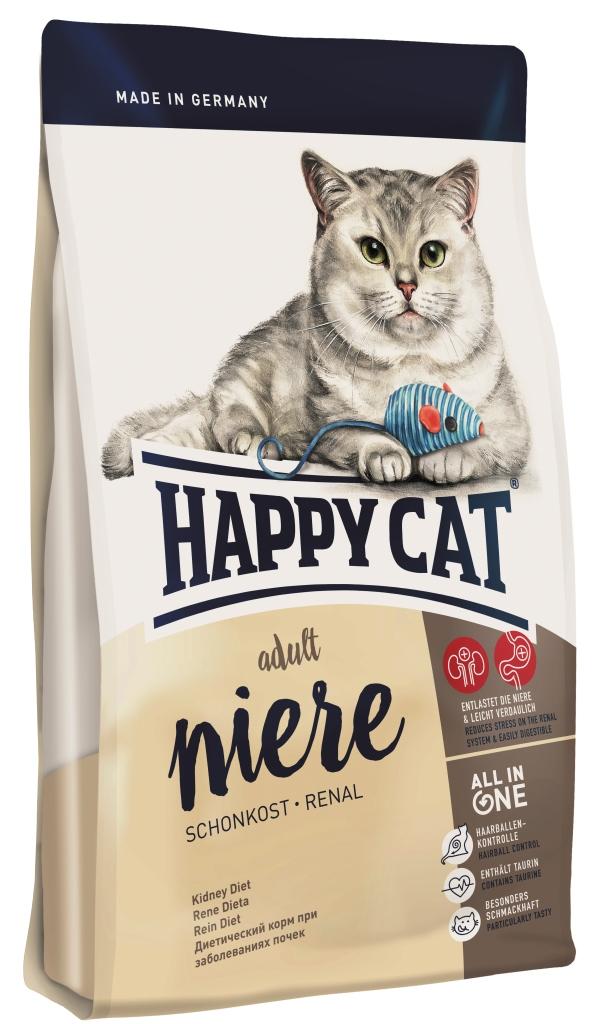 happy cat niere schonkost renal seniorkatze katzenfutter berater katzenfutter. Black Bedroom Furniture Sets. Home Design Ideas