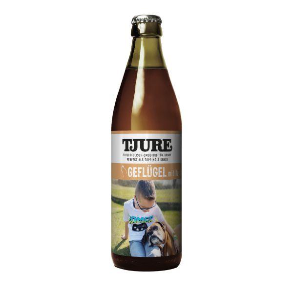 """TJURE Flüssigfleischnahrung Hund - """"Geflügel"""""""