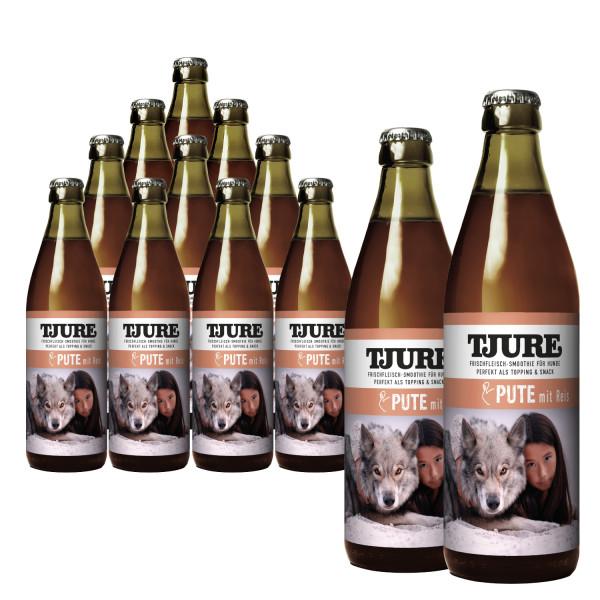 """TJURE Hund """"Pute & Reis"""" Aktion 10+2 GRATIS"""