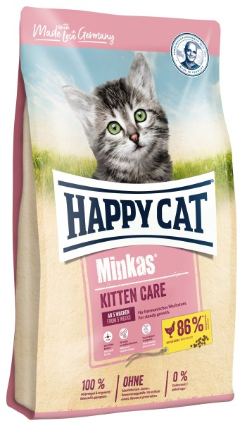 "Happy Cat ""Minkas Kitten Care Geflügel"""